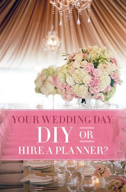 DIY Wedding or Hire a Planner?