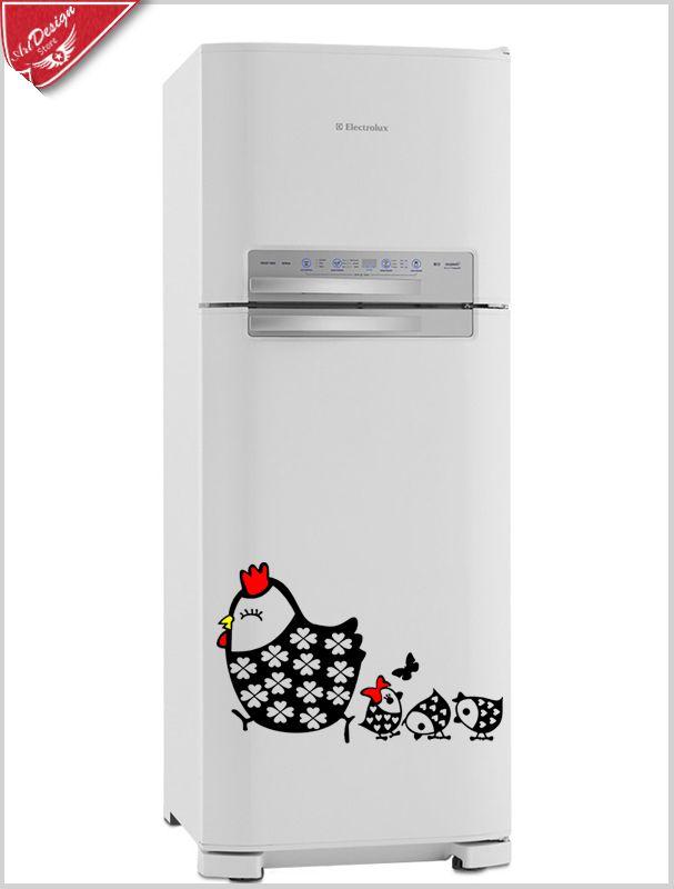 Adesivo decorativo para geladeira galinha pintada :: ArtDesign Store - adesivos decorativos, camisetas e canecas personalizadas. Decore Ideias - Adesivos Decorativos, Presentes Criativos, Papeis de parede e muito mais.
