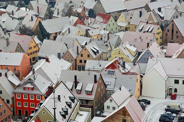 Nördlingen, Germany: Cities Snow Cov, Favorite Places, Snow Cov Rooftops, Covers Rooftops, Nördlingen, Germany, Snowcov Rooftops, Cities Snowcov, Photo