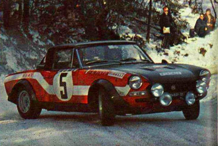 1973 Monte Carlo Rally (RaffaelePinto) Fiat 124 Abarth
