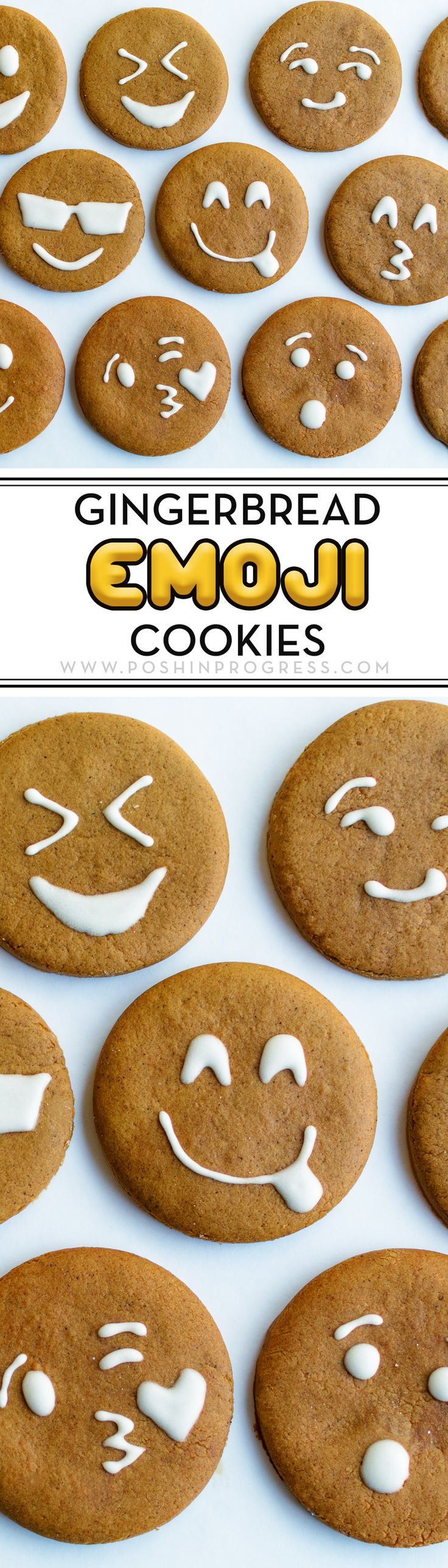 How leftover dough and the tradition of injecting pop culture into Christmas traditions turned into these cute gingerbread emoji cookies.