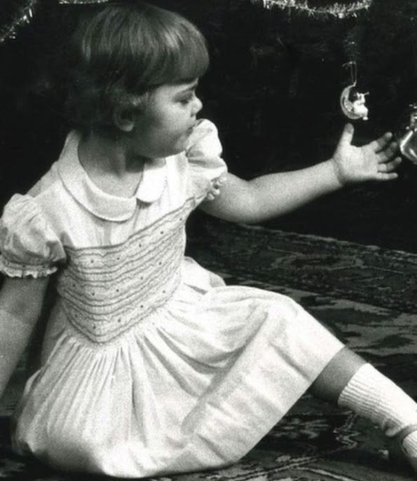 Princess Estelle wears old dresses of her mother