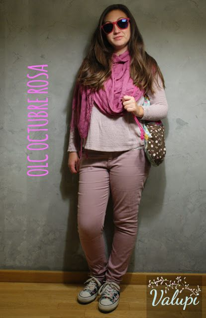 Valupi - Handmade with love: Outfit low cost: Octubre rosa