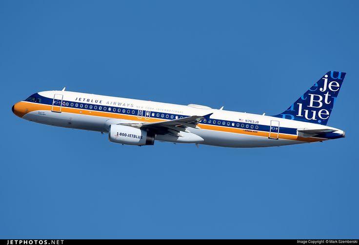 Photo of N763JB Airbus A320-232 by Mark Szemberski