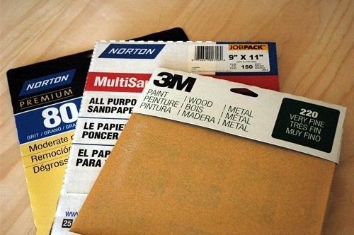 Everything you ever wanted to know about sandpaper - great for DIY beginners