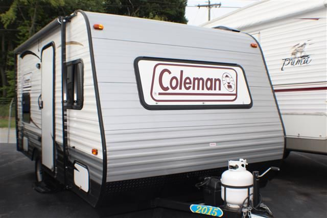 Used 2015 Coleman Coleman Cts15bh Travel Trailer For Sale