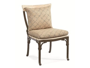 Shop for Century Furniture Dining Side Chair, D29-53-1, and other OutdoorPatio Chairs at Goods Home Furnishings in North Carolina Discount Furniture Stores Outlets. Capturing the graceful and timeless magic of Provence, Maison Jardin is understated yet elegant in its appearance. Its classically styled framework with spiral volute and buckle details, teak wood slats, vintage colors and French motif fabrics distinguish this quintessential garden furniture.