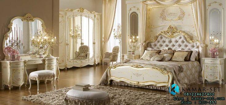 Interior Kamar Tidur Utama Mewah Terbaru Klasik Ukir Monalisa