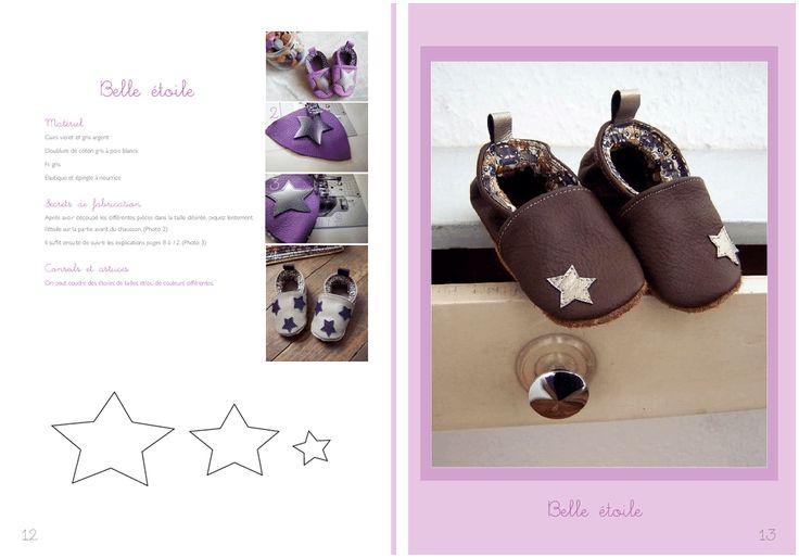 Tuto de fabrication de petits chaussons en cuir pour bébés - Creapassions