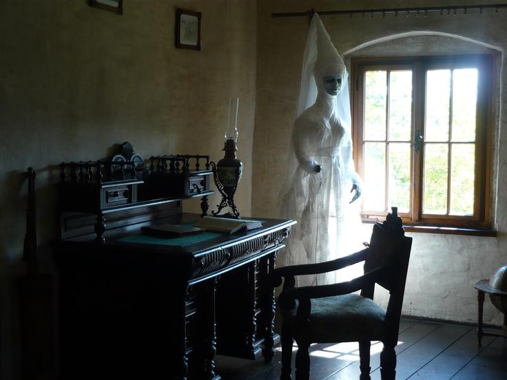 Orava castle inside  - White Lady