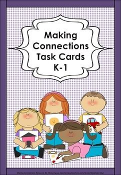 60 Task Cards with Photos - emphasizing Texture, four questions children answer by drawing on past knowledge and making connections. These Task Cards are also fantastic for drawing connections between the noun and adjective relationship. The task cards can be used at work stations with answers written in books or for developing oral language in children, either as a class group or individually. Task Cards are also great used in Special Education and differentiated on student ability.