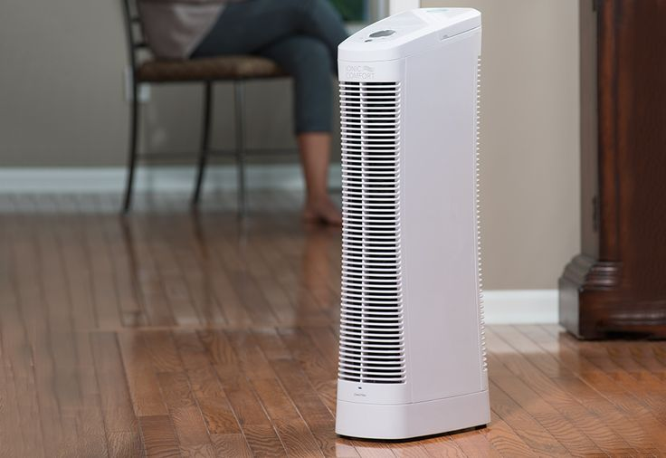 Sharper Image's Ionic Comfort Quadra Air Purifier removes dust, pollen and tobacco smoke from your air, along with smaller, atomic-sized particles that traditional HEPA air purifiers leave behind. Whisper-quiet technology lets you put one in any room – even the bedroom. And, it never needs a new filter.