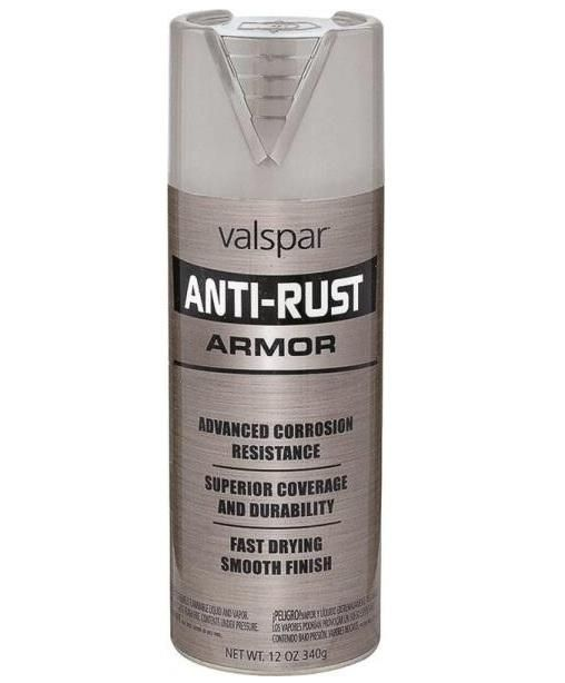 Valspar 21956 Armor Anti-Rust Enamel Spray Paint, 12 Oz