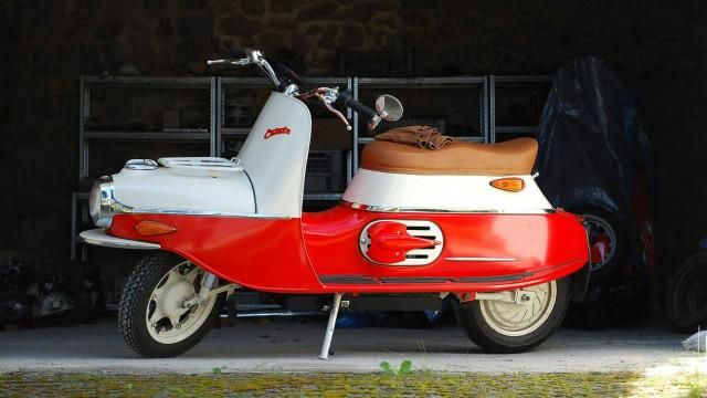 Čezeta se popularizou no centro e no sul da Europa e agora é apresentada com motor elétrico, em apenas 100 exemplares.