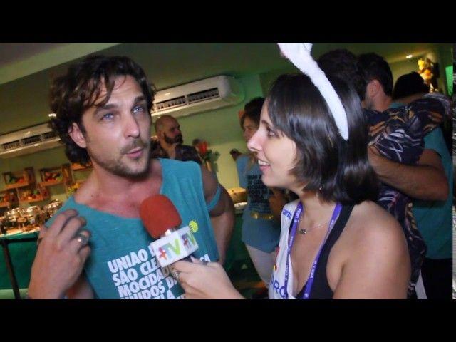 Carnaval Plus TV 2017 || Igor Rickli no Camarote Folia Tropical fala sobre novela da Record