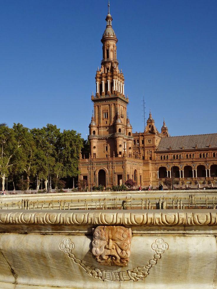 MANIA PODRÓŻOWANIA : /SEWILLA/ Spacer tropami bohaterów po stolicy Andaluzji