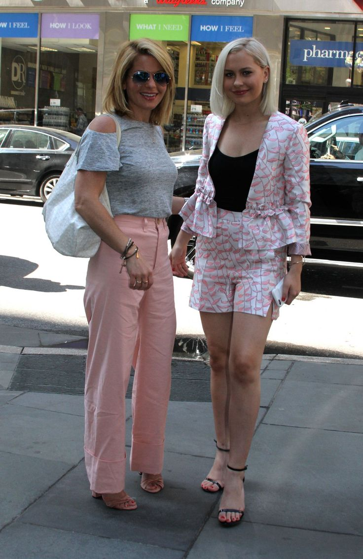 "#NYC Candace Cameron Bure and Her Daughter Natasha Bure - Leaving the ""Today"" in NYC 06/01/2017 