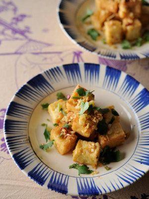 【ELLE gourmet】ダウフー・ムオィ・サー(厚揚げのレモングラス炒め)レシピ エル・オンライン