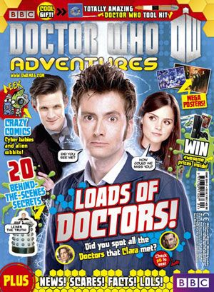 Doctor Who Adventures issue 324