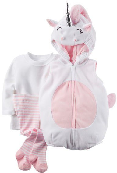 Pin for Later: 169 Warm Halloween Costume Ideas That Won't Leave Your Kids Freezing Little Unicorn Halloween Costume Carter's Little Unicorn Halloween Costume ($24)