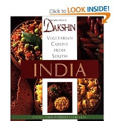 Vegetarian recipes from southern India