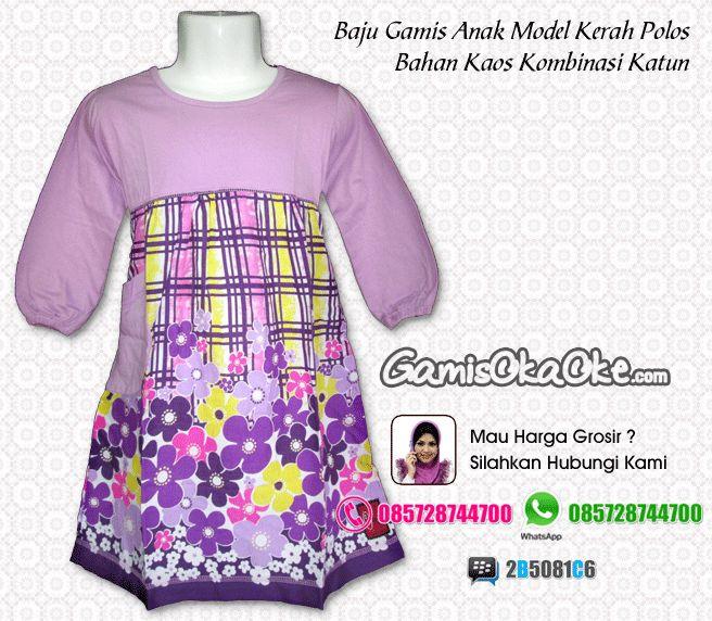 Grosir baju gamis anak remaja perempuan terbaru bahan kaos Suplier baju gamis remaja harga pabrik bandung