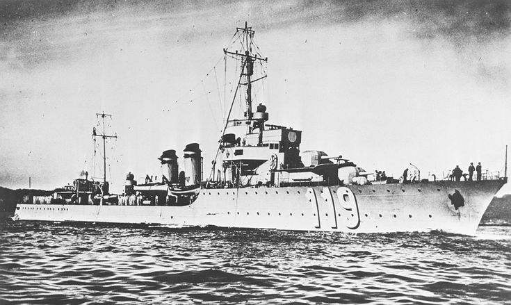 The French destroyer Frondeur was one of 14 L'Adroit-class destroyers built for the French Navy during the 1920s. After France surrendered to Germany in June 1940, Frondeur served with the naval force of Vichy France. She was at Casablanca, French Morocco, when Allied forces invaded French North Africa in Operation Torch in November 1942. Resisting the invasion, she was sunk by gunfire from U. S. Navy ships off Casablanca during the Naval Battle of Casablanca.