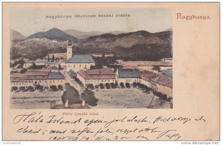 BAIA MARE - vedere - 1901