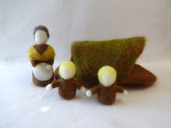 15% off on Cyber Monday with coupon code CYBER15 - Waldorf Style Mother Earth and Root Children set from EarthyMamaGoods