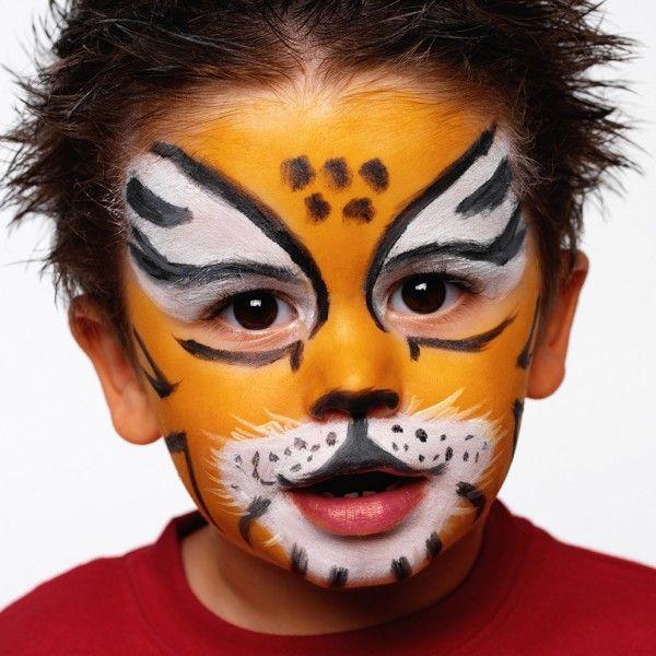 carnevale bambini trucco tigre