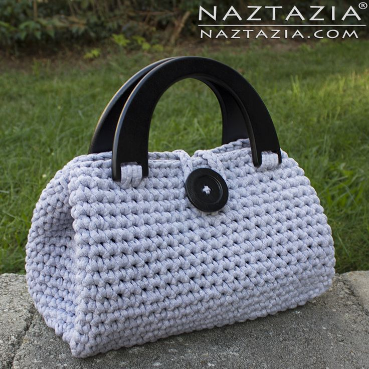Crochet Easy Casual Friday Handbag by Donna Wolfe from Naztazia