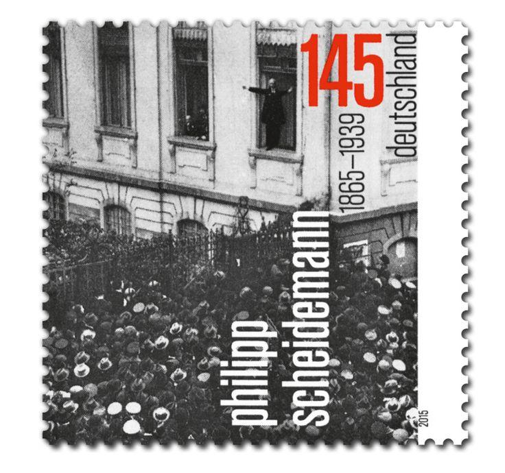 COLLECTORZPEDIA Philipp Scheidemann 150th Birthday Anniversary