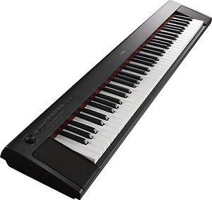 Yamaha NP32 76-Key Lightweight Portable Keyboard, Black UPC: 889025101585