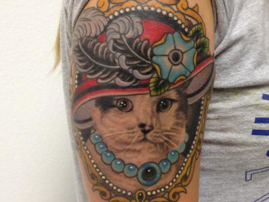 Anthony Romero | Tattoo Design | Creative Bloq | http://www.creativebloq.com/illustration/20-brilliant-tattoo-designs-712379