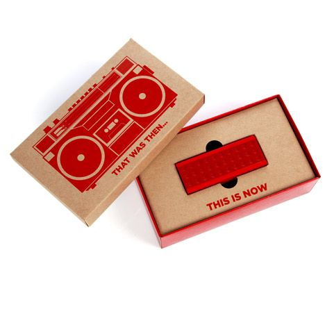 Amazing Limited edition packaging! Jambox by Yves Behar at The Temporium