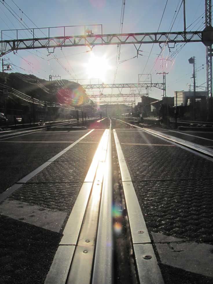 Zushi station in a morning.