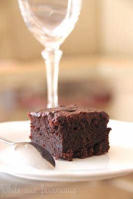 Gâteau Texan