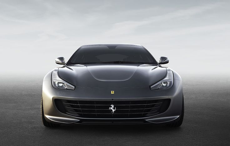 2017 Ferrari GTC4Lusso - if you see this in your rear view mirror, better move over.