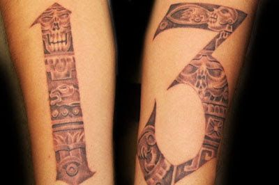 13 Tattoos Of The Number 13 | Wallpaper Hungama