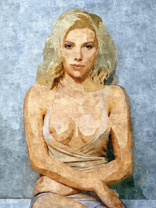 Naughty Scarlett Nude
