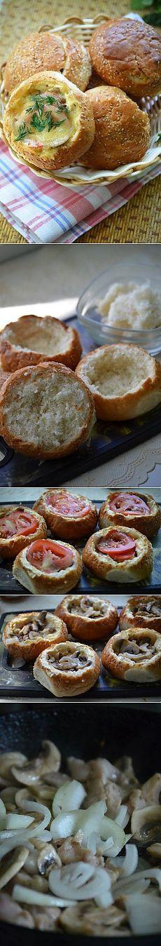 Как приготовить фаршированные булочки для пикника - рецепт, ингридиенты и фотографии