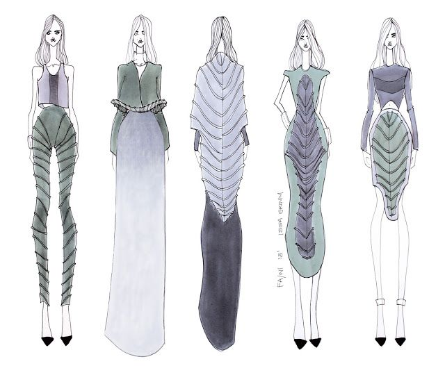 ISSA GRIMM: concept sketches fashion illustrations fashion design #fashionillustrations #fashiondesign