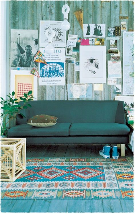 Green Sofa #HomeManagement