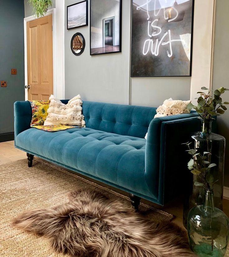 Samtsofas Mehr Als Nur Ein Trend Lounge Als Ein Lounge Mehr Nur Samtsofas Trend Wohnzimmer Sofa Sofa Design Samt Sofa