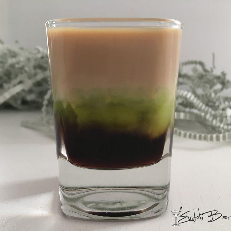 Depression kahve likörü, Midori, Baileys Irish Cream #kokteyl #yummy #delicious #cocktail #içki #booze #shot #3 #depresyon #depression #recipe #beautiful #tarif #alkol