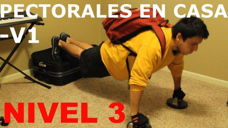 Ejercicios Para Pectorales En Casa - NIVEL 3 Variacion 1 - http://dietasparabajardepesos.com/blog/ejercicios-para-pectorales-en-casa-nivel-3-variacion-1/