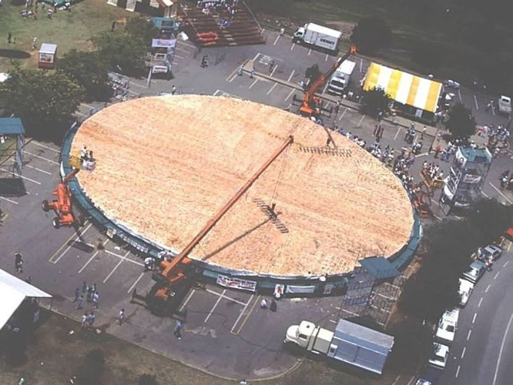 The World's Largest Pizza Ever Weighed 26,883 lbs - Eater