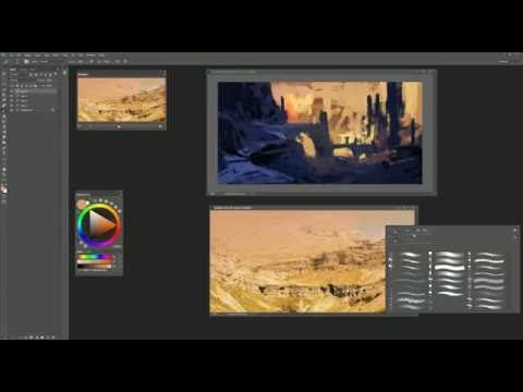 ArtStation - Painting Process, Andreas Rocha