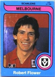 ROBBIE FLOWER - MELBOURNE FOOTBALL CLUB. REST IN PEACE MATE .