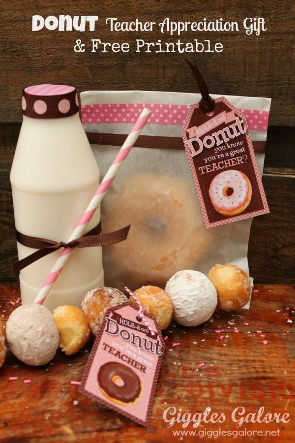 Donut-Teacher-Appreciation-Gift-and-Free-Printable Donuts Hole ...